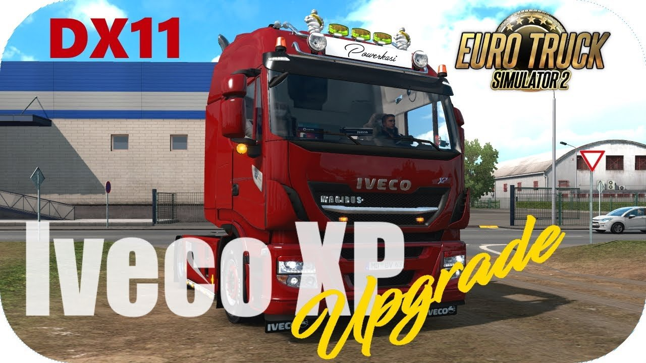 Upgrade-Mod for Schumis Iveco XP truck