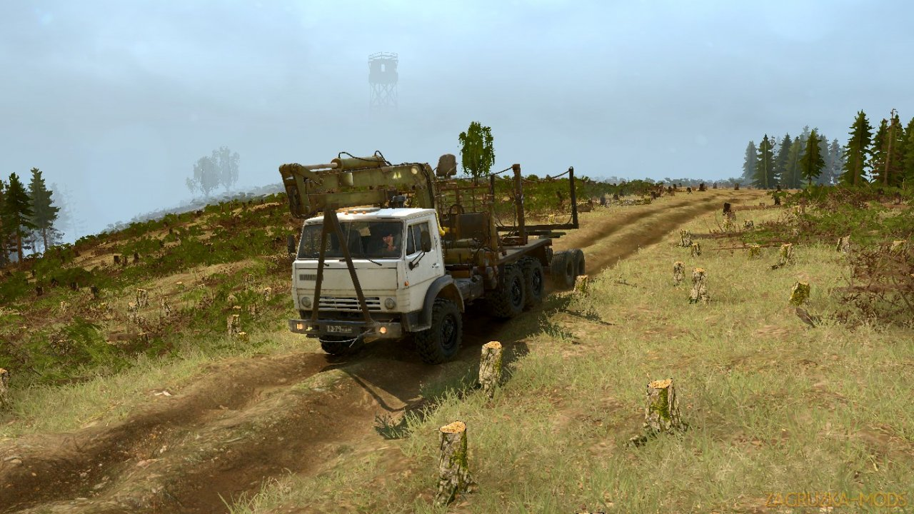 Fox Marsh Road Map v1.0 for Spintires: MudRunner