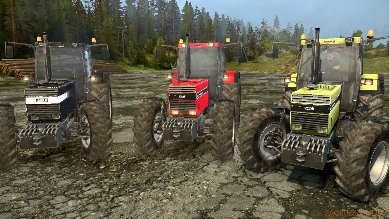 Case IH 1455 XL v1.0 for Spintires: MudRunner
