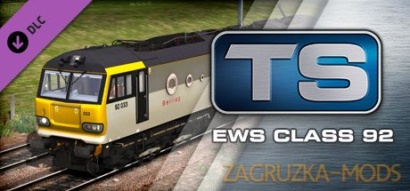 Class 92 Electric Locomotive v1.0 for TS 2020