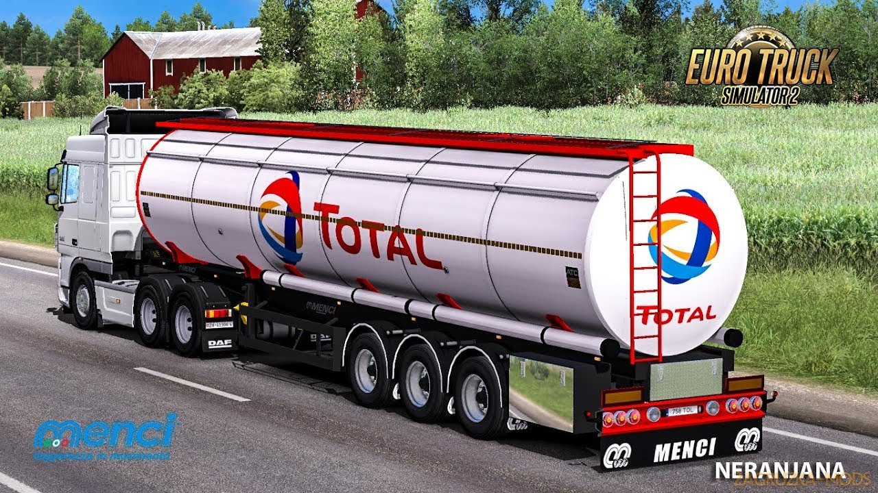 Cistern Menci v1.35 by MDModding for ETS2