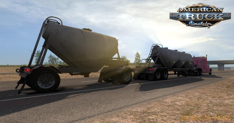 Ownable SCS Dry Bulk Trailers v1.5 (1.36.x) for ATS