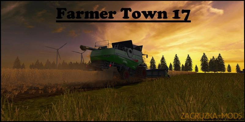 Farmer Town Map v1.0 for FS17