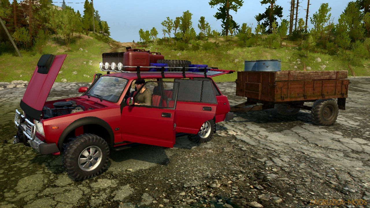 LADA 2104 (VAZ-2104) SVE v1.0 for Spintires: MudRunner