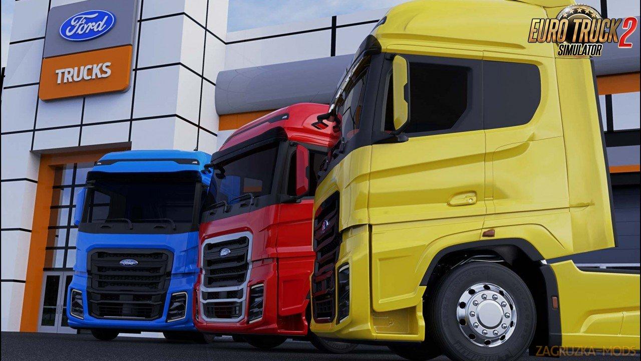 Ford Trucks F-MAX v2.0 by SimulasyonTURK (1.37.x) for ETS2