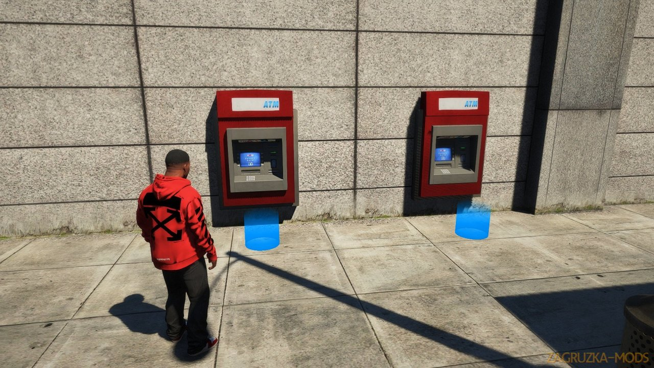ATM Robberies Mod v0.3.2 for GTA 5