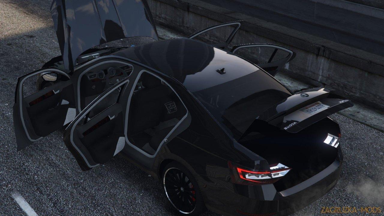 Skoda Superb 2015 v2.0 for GTA 5