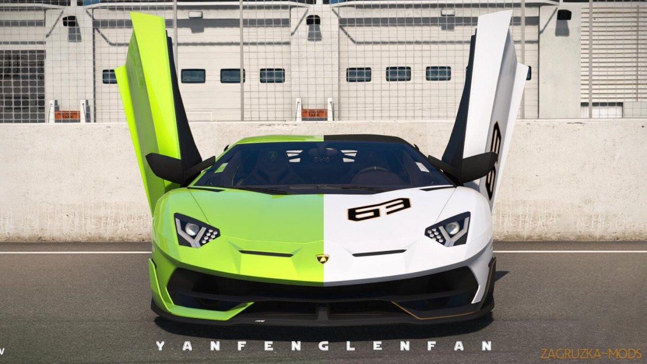 Lamborghini Aventador SVJ Anniversary Edition v2.6 for GTA 5