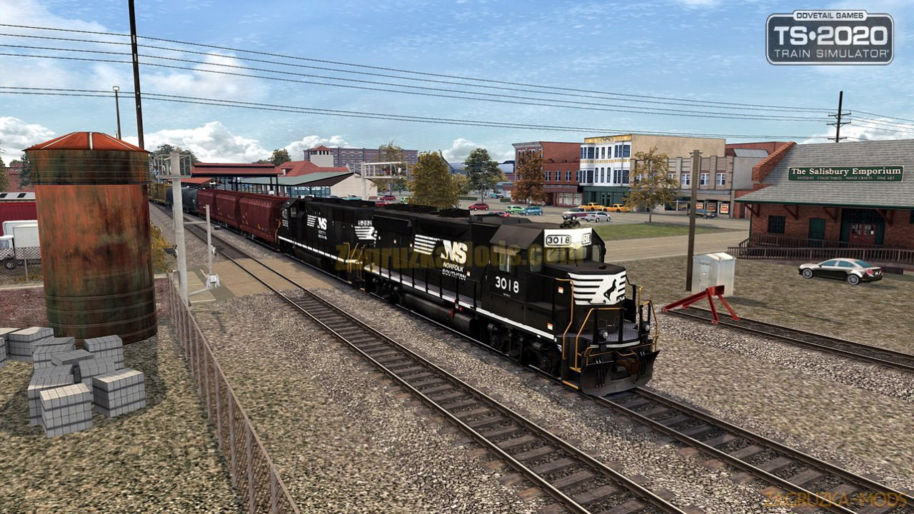 Norfolk Southern N-Line Route v1.0 for TS 2020