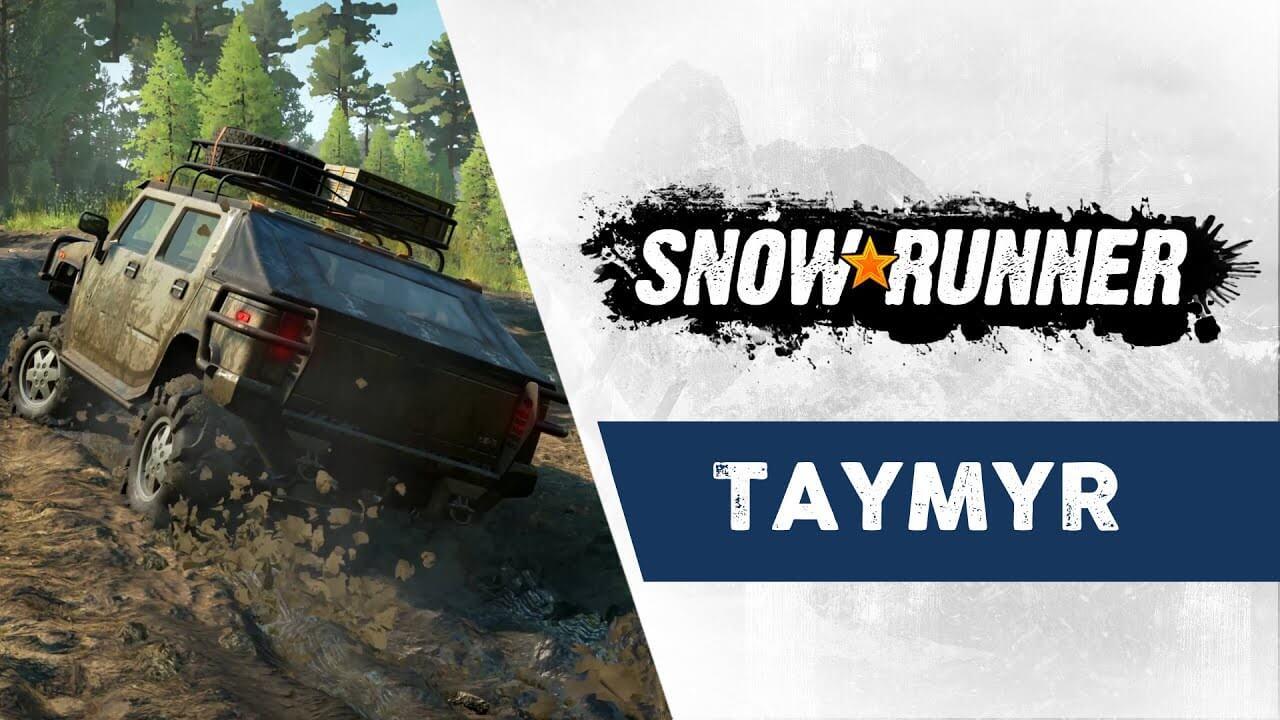 SnowRunner - Taymyr Trailer released