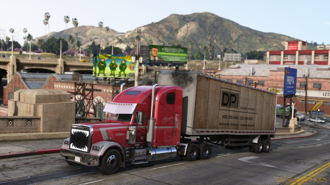 Freightliner Classic XL 1998 v1.0 for GTA 5