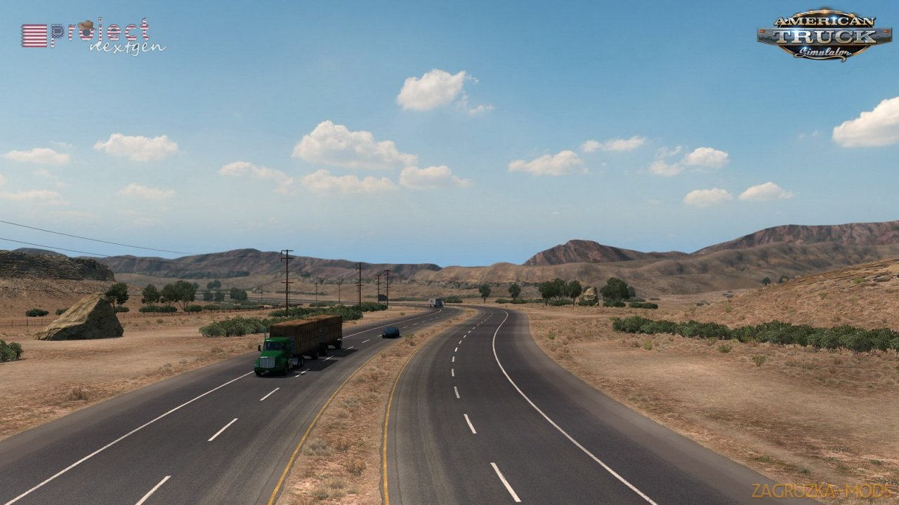 Project Next-Gen - USA v1.0 by DamianSVW (1.37.x) for ATS