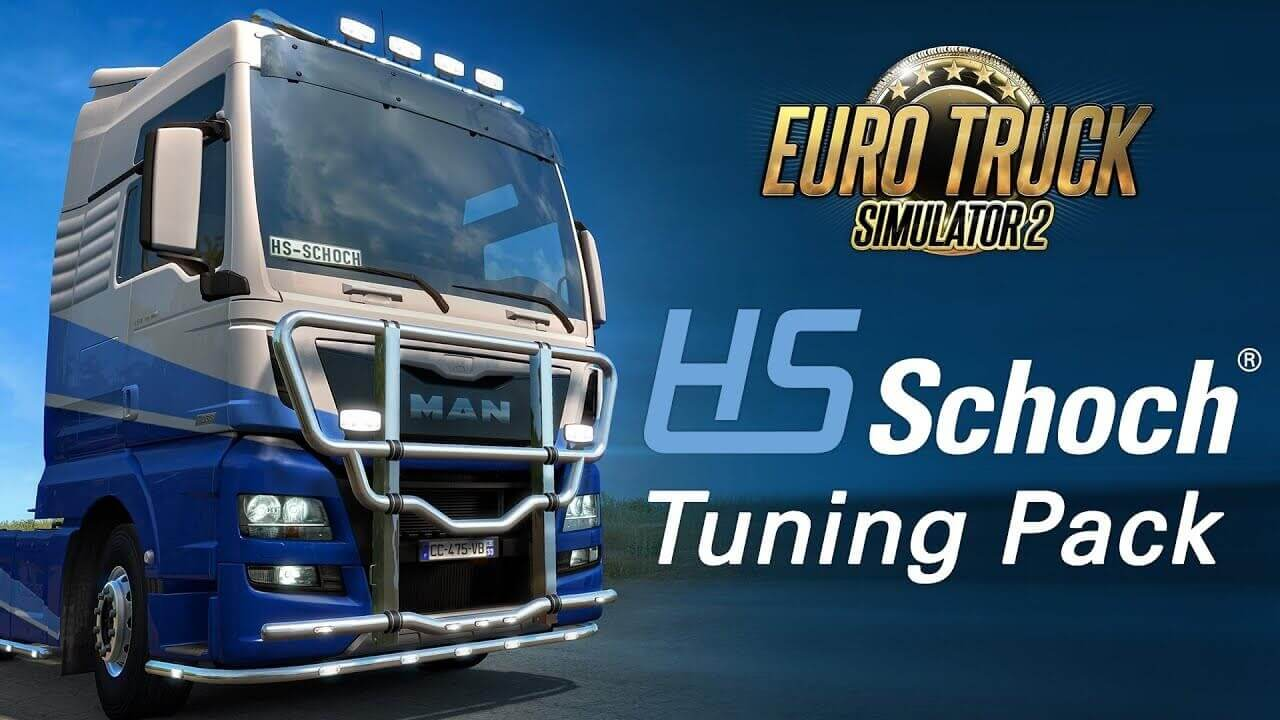 HS-Schoch Tuning Pack DLC by SCS Software for ETS 2