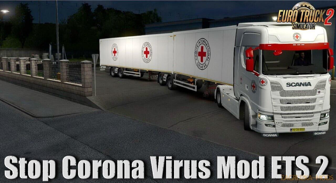 Stop Corona Virus Pack Mod v1.0 (1.36.x) for ETS 2