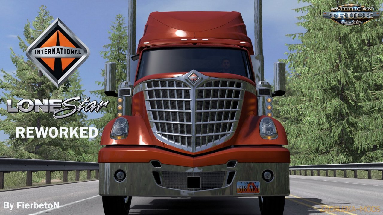 International LoneStar v1.0 by FierbetoN (1.37.x) for ATS