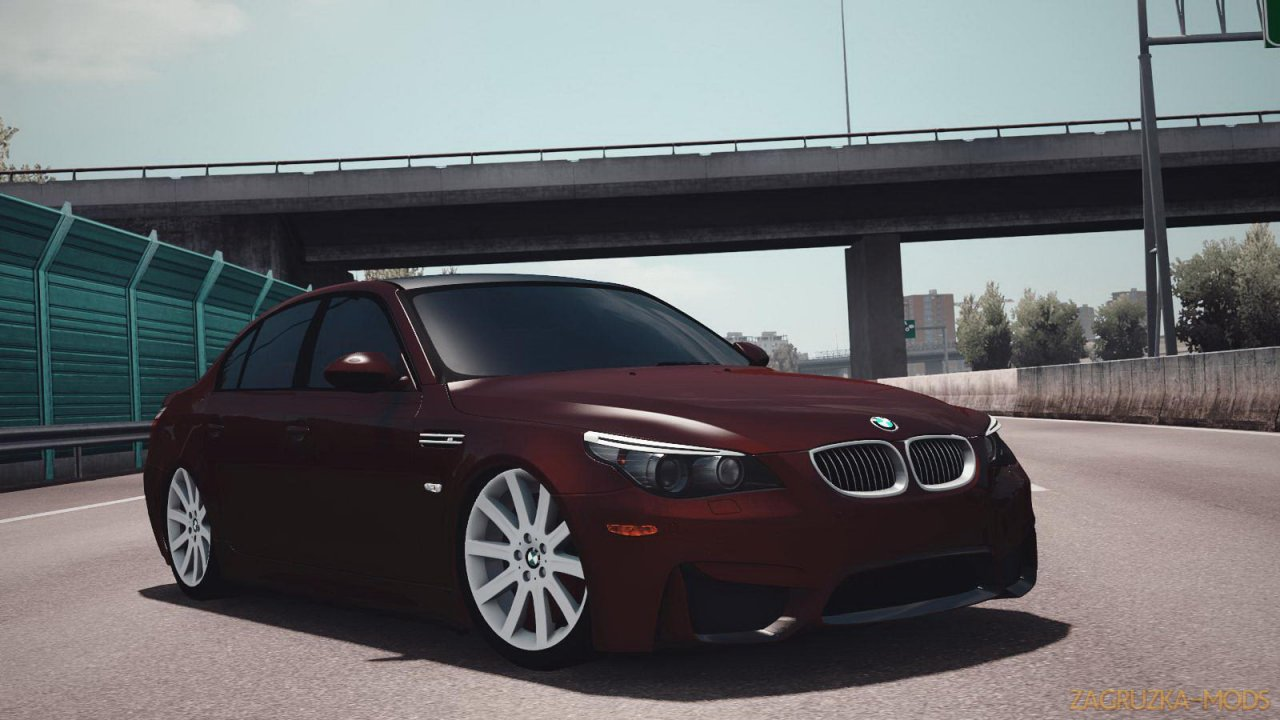 BMW 5 Series E60 + Interior v1.0 (1.37.x) for ETS 2