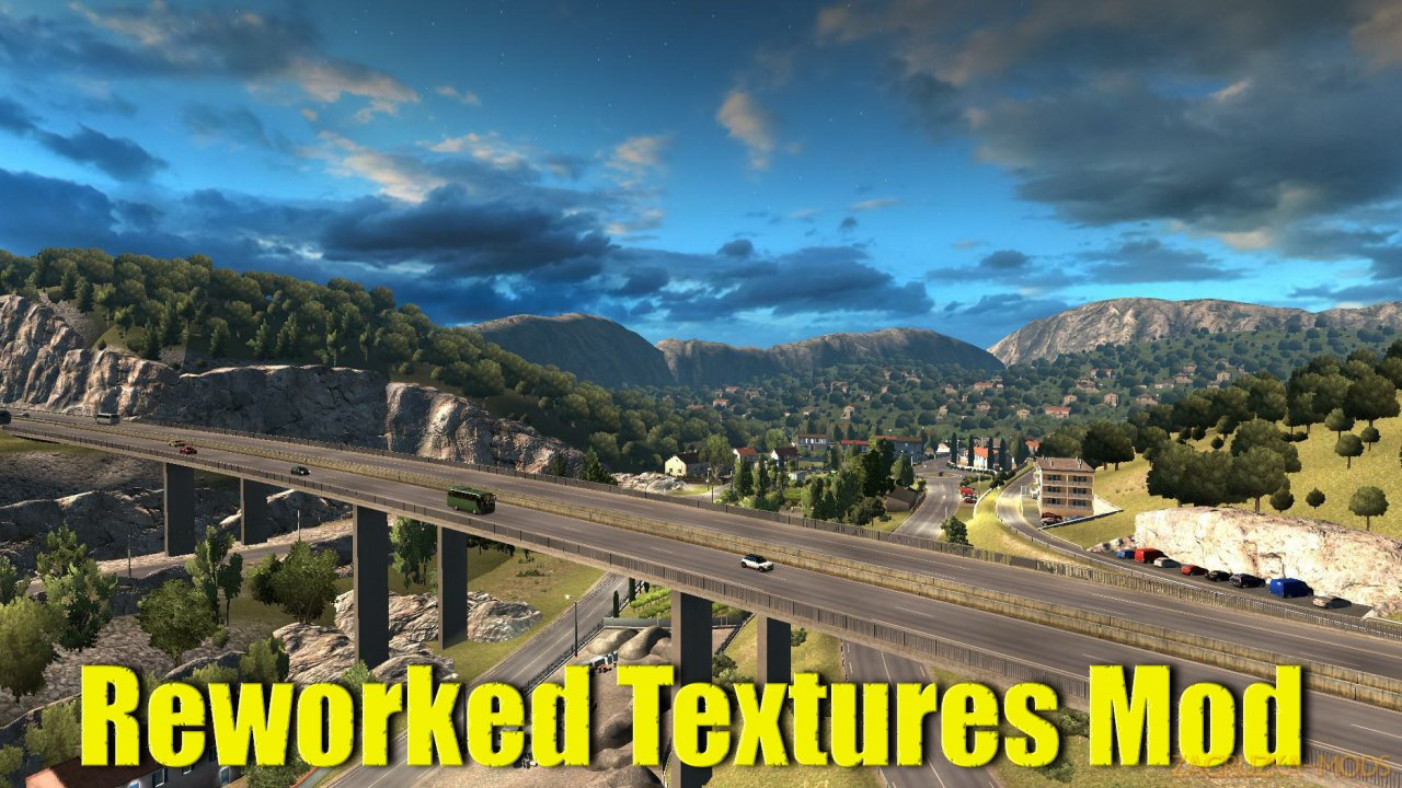 Reworked Textures Mod v3.0 (1.36.x) for ETS 2