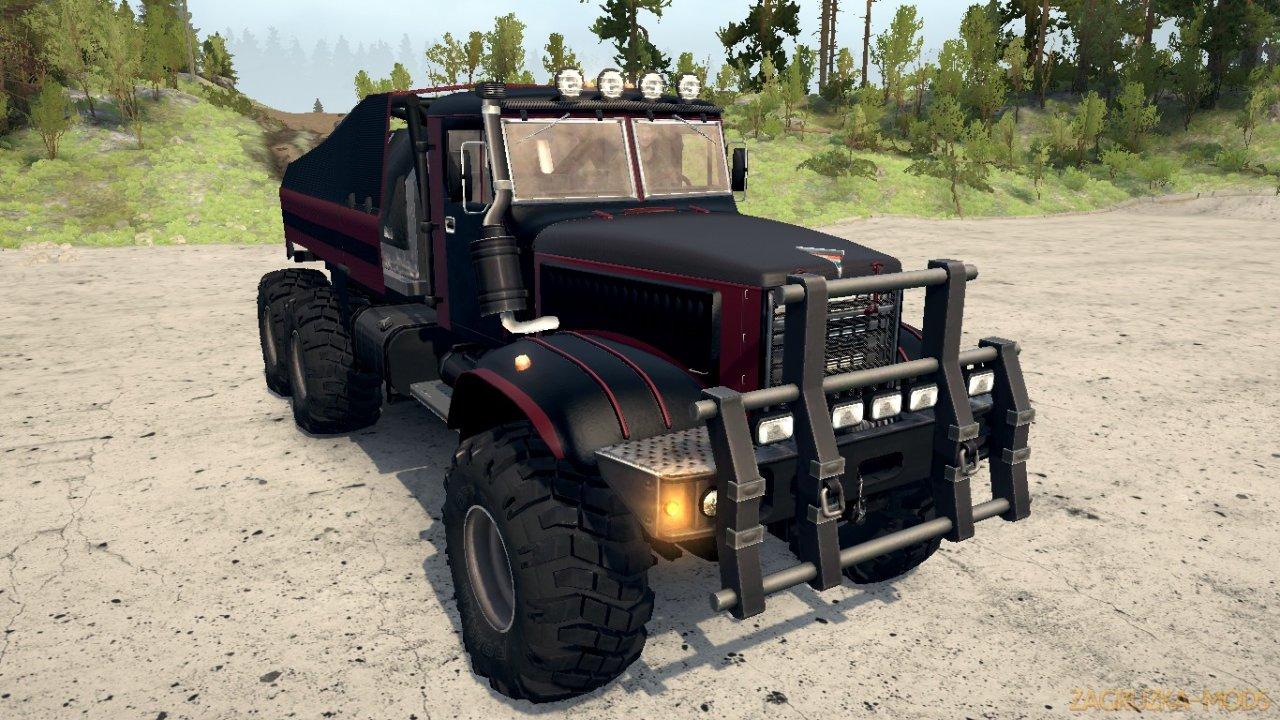KrAZ 255F Truck v1.0 for Spintires MudRunner
