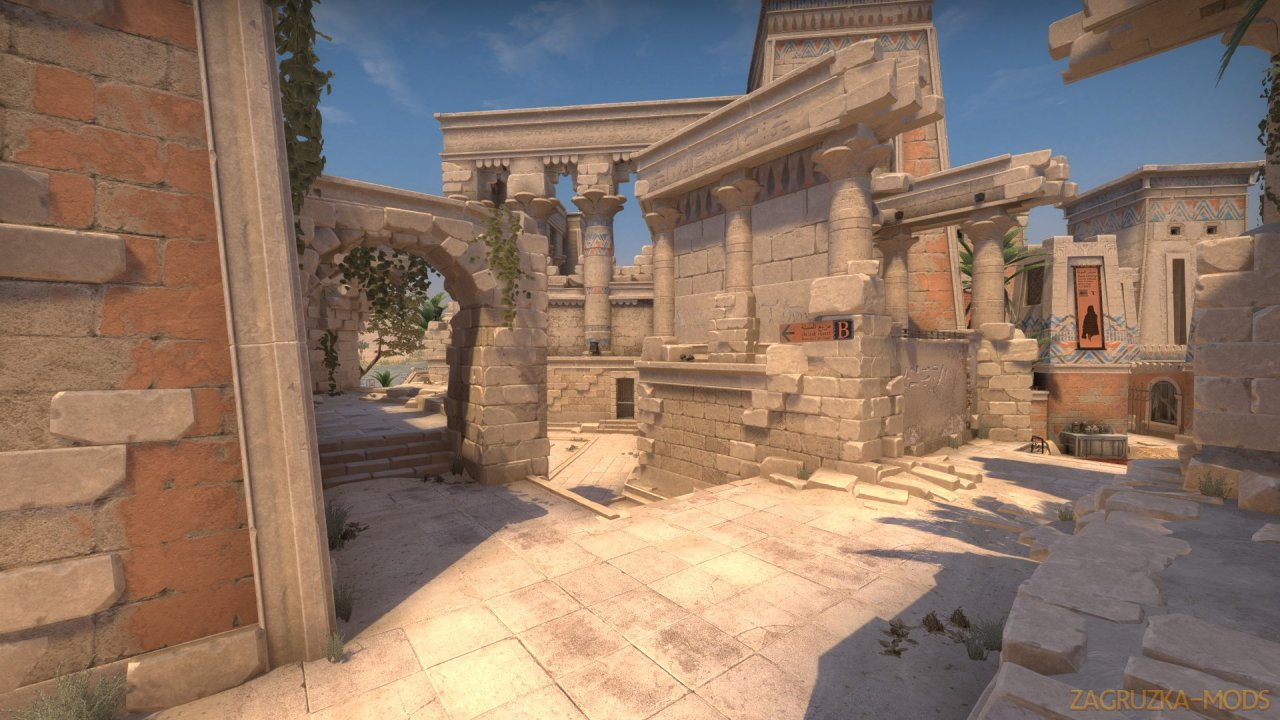 Anubis Map v1.0 by Roald for CSGO