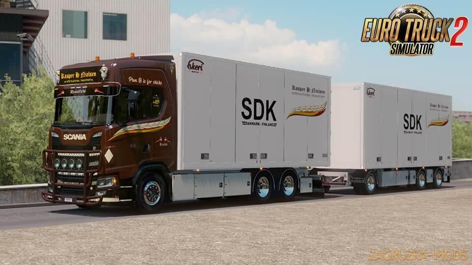 Scania S Kasper H Nielsen Combo Skin v1.0 (1.36.x) for ETS 2