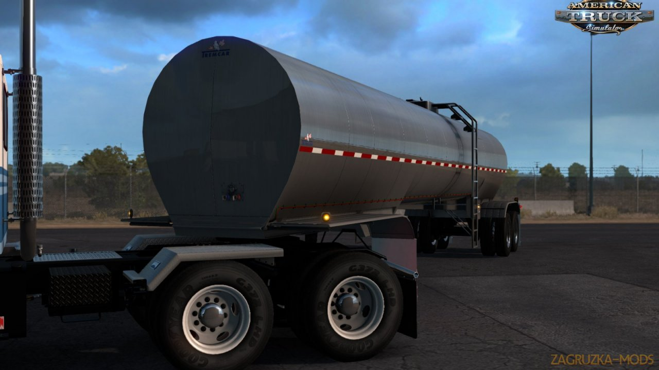 Trailer Tremcar 3A Sanitary v1.4 by Smarty (1.38.x) for ATS