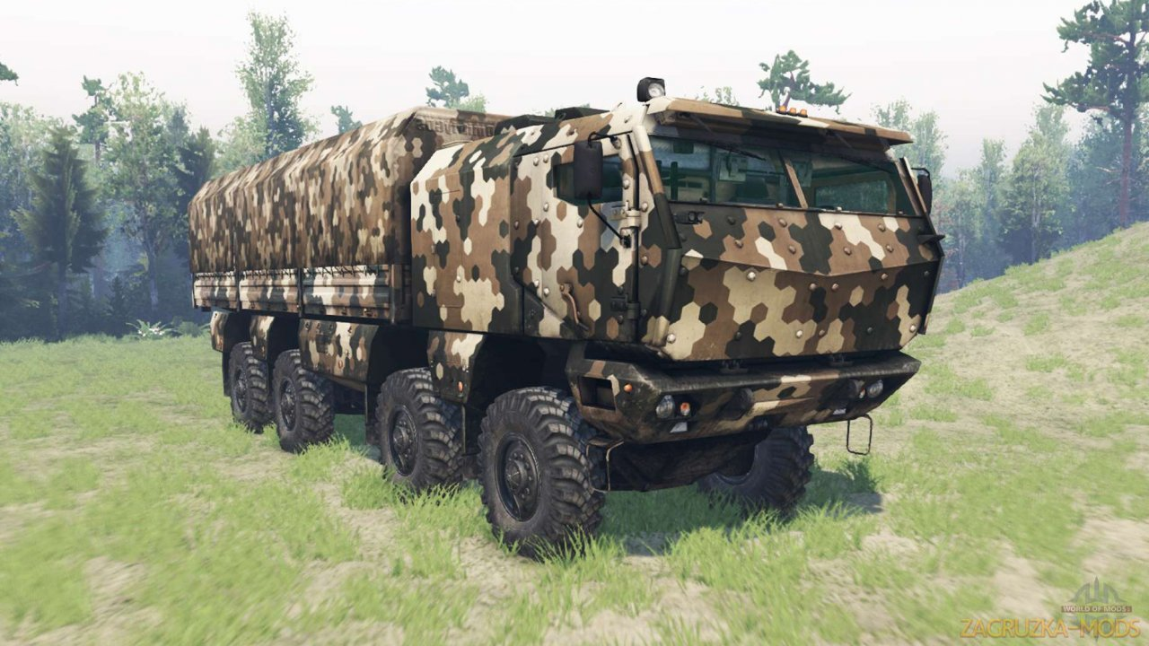 KamAZ-63968 Typhoon v1.0 for Spintires MudRunner