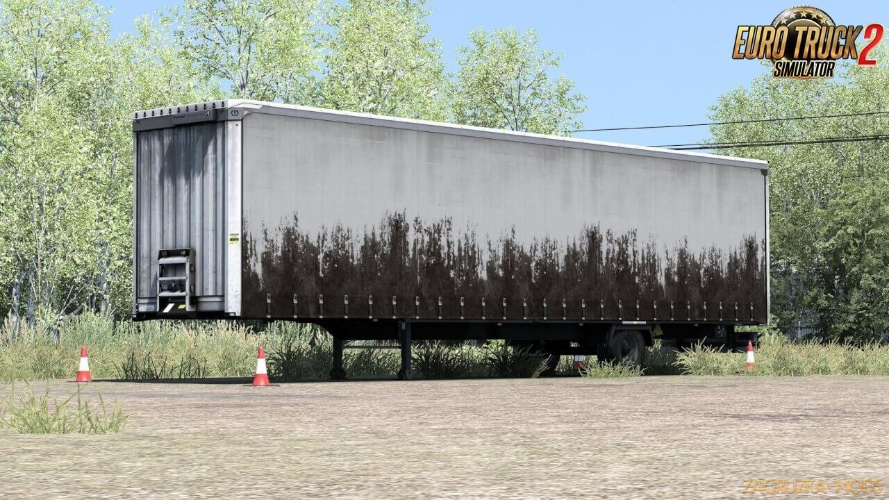 Paintable Dirty Skin for Krone Megaliner v1.0 (1.36.x) for ETS 2