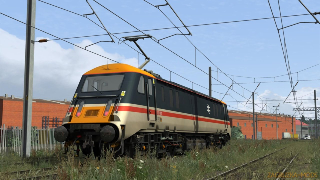 Electric Locomotive InterCity BR Class 89 v1.0 for TS 2020