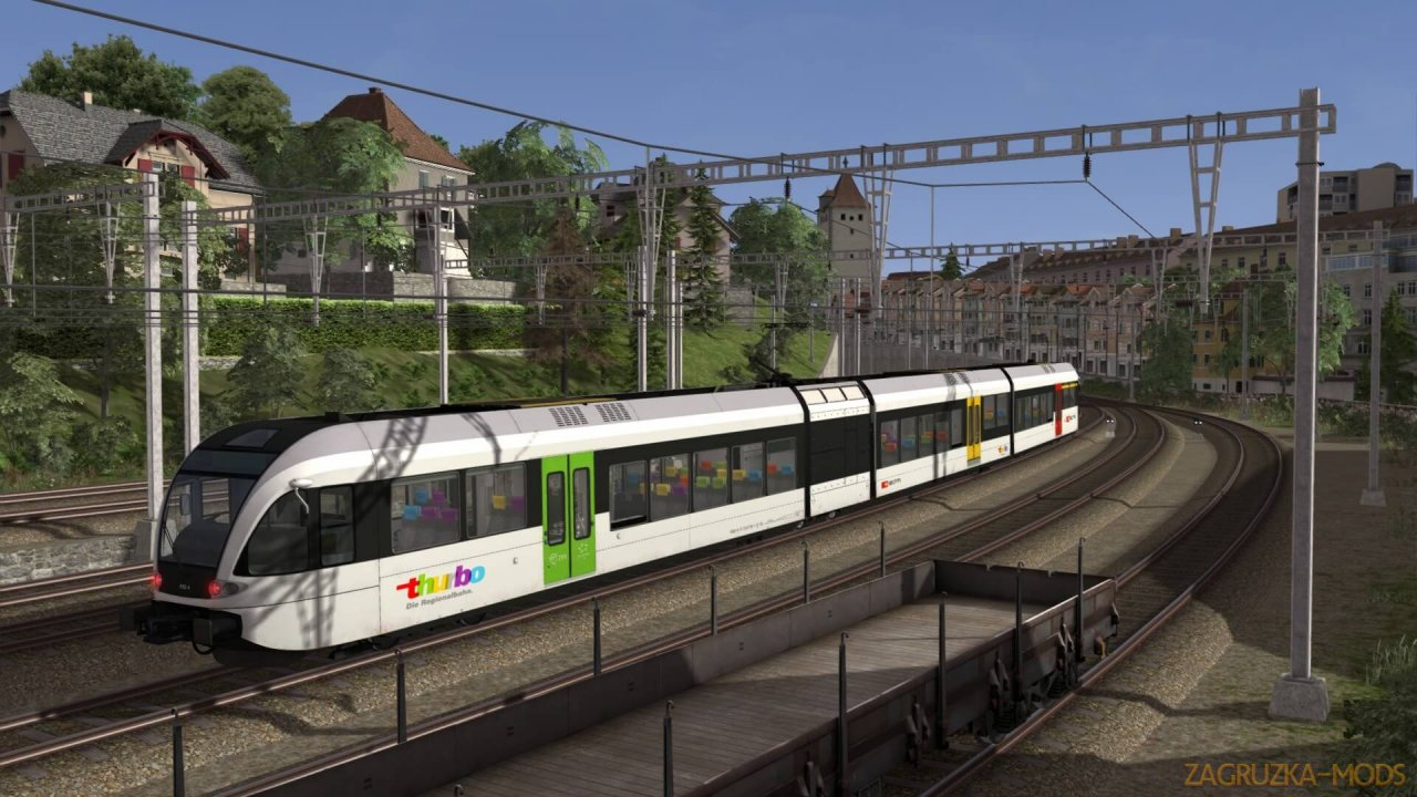 Route Lake Constance: Schaffhausen - Kreuzlingen v1.0 for TS 2020