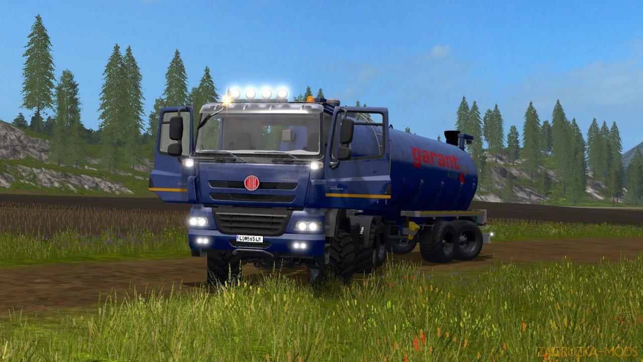 Tatra Phoenix 6x6 Beater Truck v1.0 for FS17