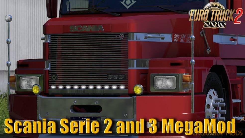 Scania Serie 2 and 3 MegaMod v1.0 (1.36.x) for ETS 2