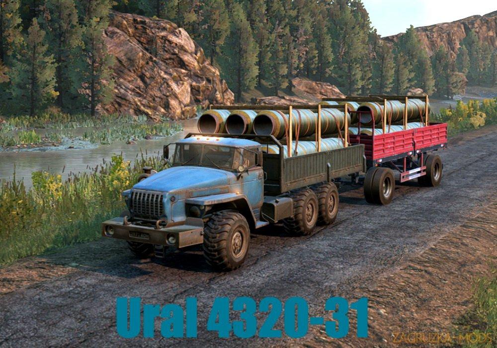 Ural 4320-31 v1.0 for Spintires SnowRunner