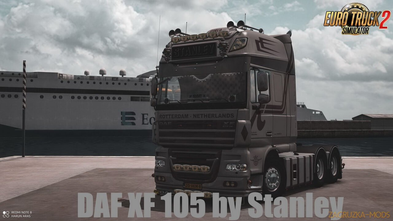 DAF XF 105 v1.7 by Stanley (1.36.x) for ETS 2