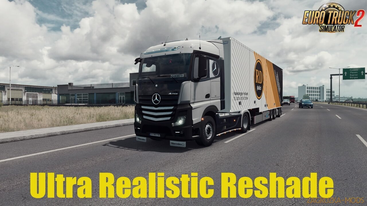 Ultra Realistic Reshade v1.0 (1.37.x) for ETS2 and ATS