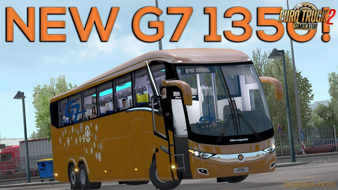 Marcopolo Paradiso 1350 New G7 v1.5 (1.36.x) for ETS 2