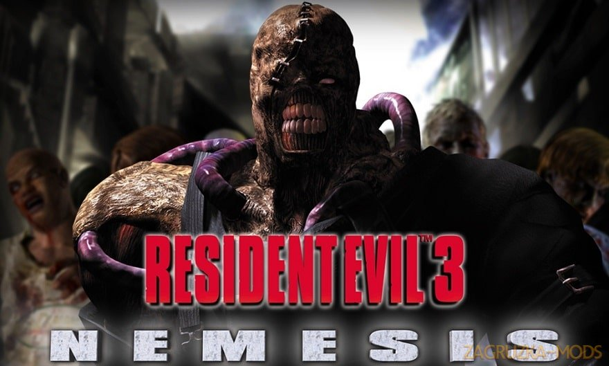 Nemesis Character from Resident Evil 3 v1.0 for CSGO