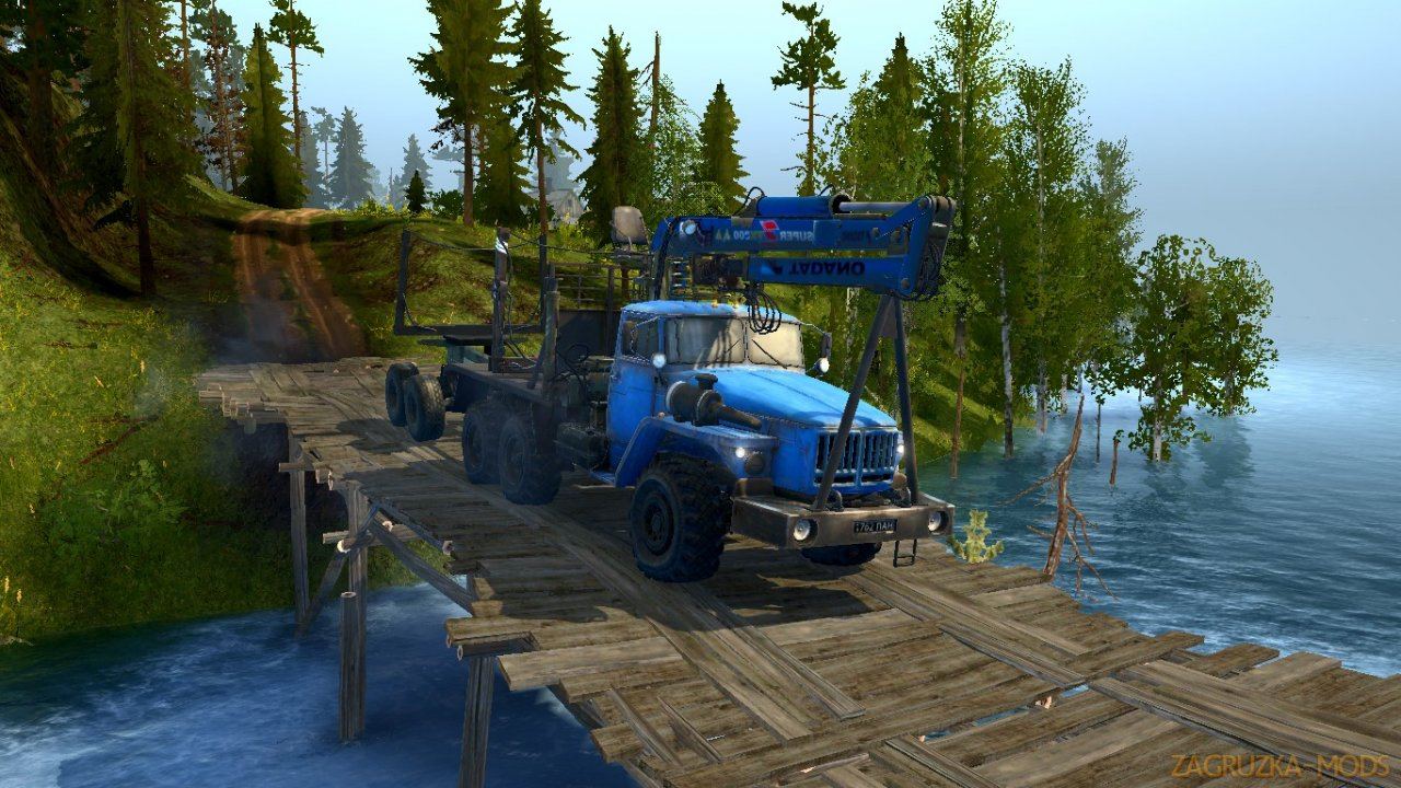 Lakeside Valleys Map v1.0 for Spintires: MudRunner