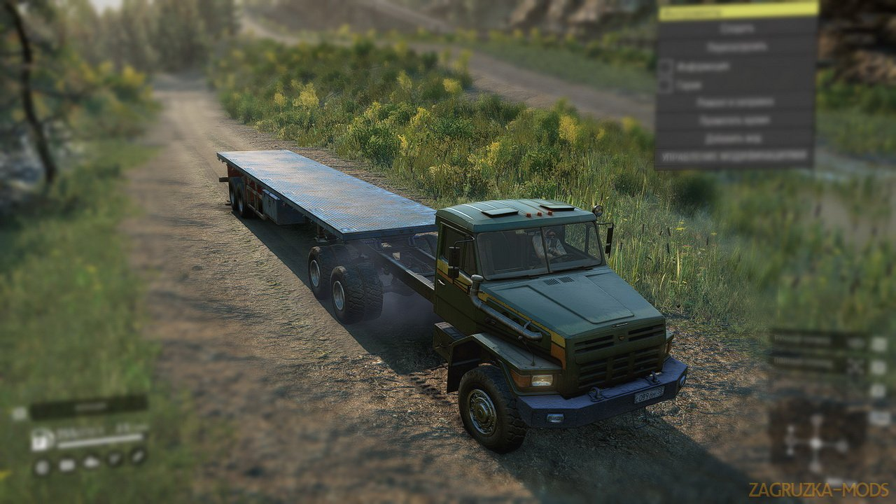 Truck Voron v1.0 by Slava_102Rus for SnowRunner