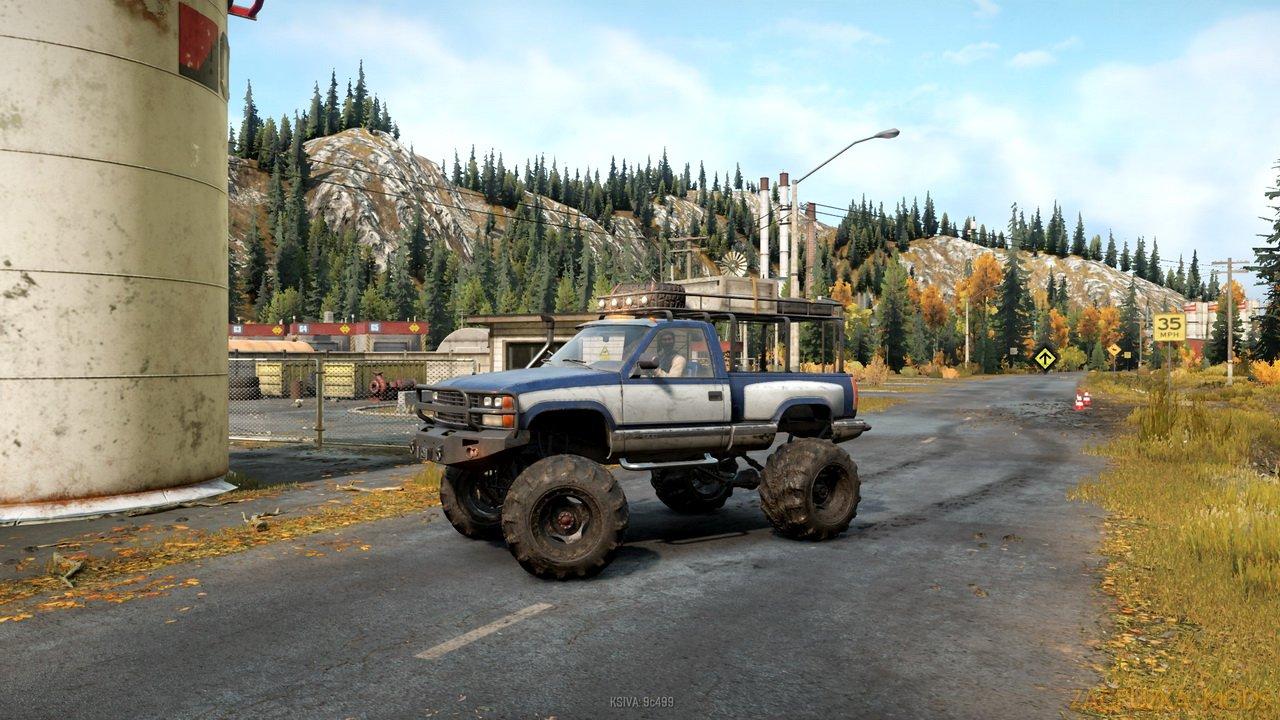 Chevrolet K1500 Ultra v1.3 for SnowRunner
