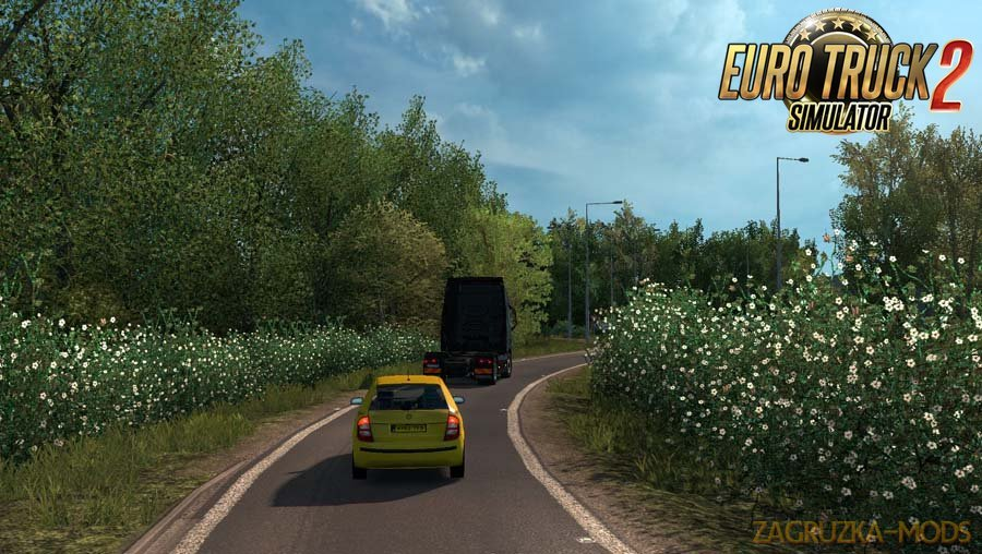 Spring Weather Mod v3.5 by Grimes (1.37.x) for ETS2