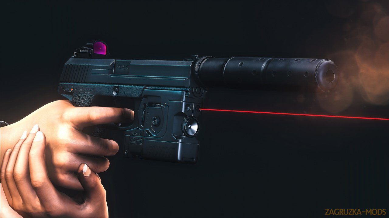 IceStorm MK23 Socom Pistol v1.0.2 for Fallout 4