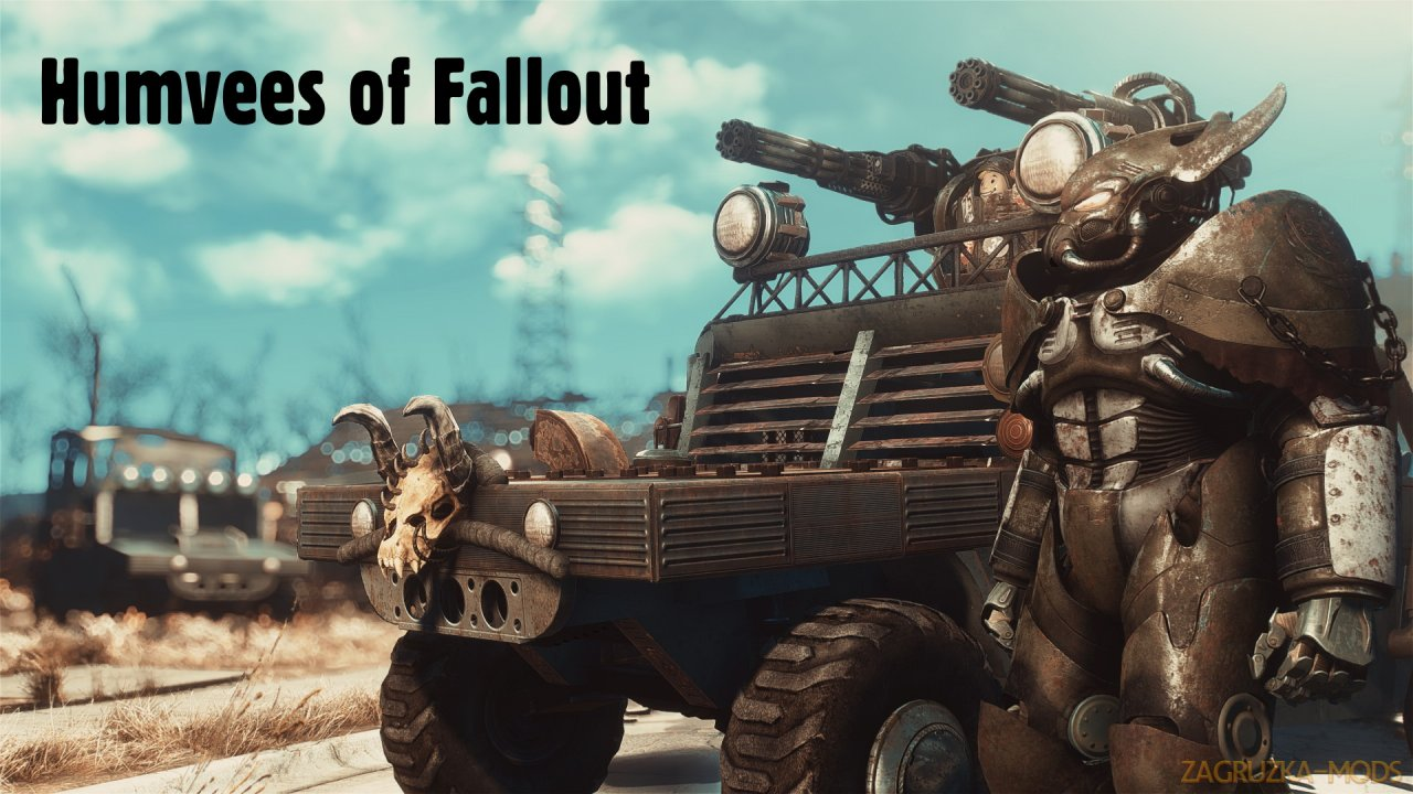 Humvees Vehicle v1.0 for Fallout 4