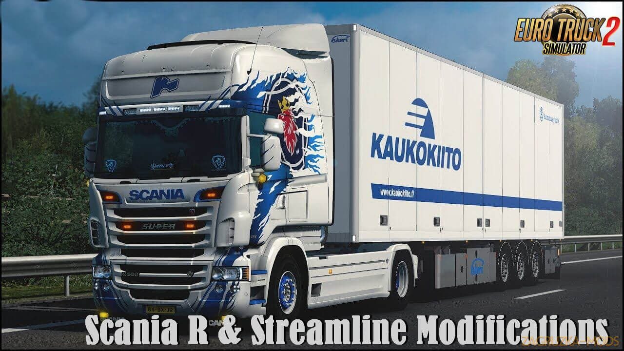 Scania R & Streamline Modifications v2.3 by RJL (1.40.x)
