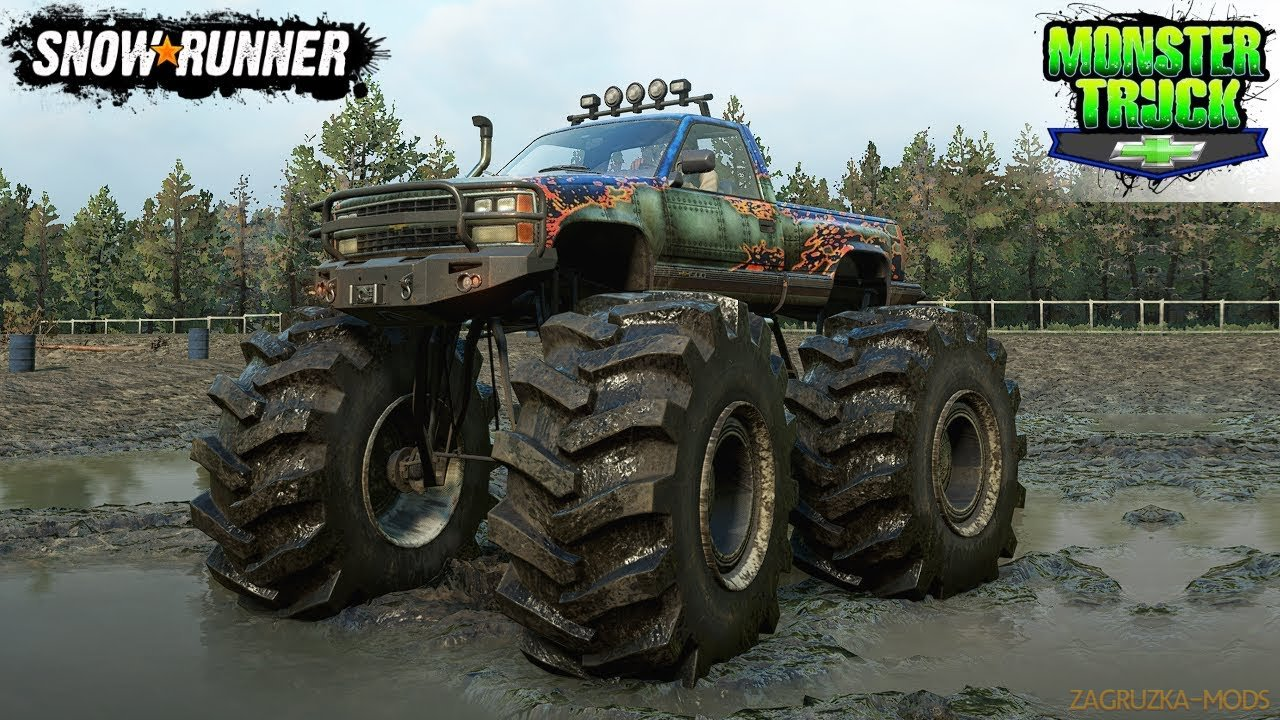 Chevrolet CK 1500 Monster Truck v1.3.3 for SnowRunner