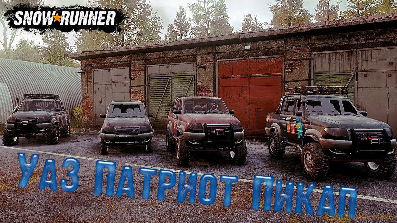 UAZ Patriot Pickup v3.0 for SnowRunner