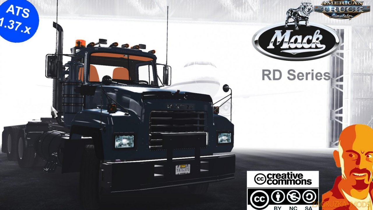 Mack RD ReWorked v1.0 by CyrusTheVirus (1.37.x) for ATS