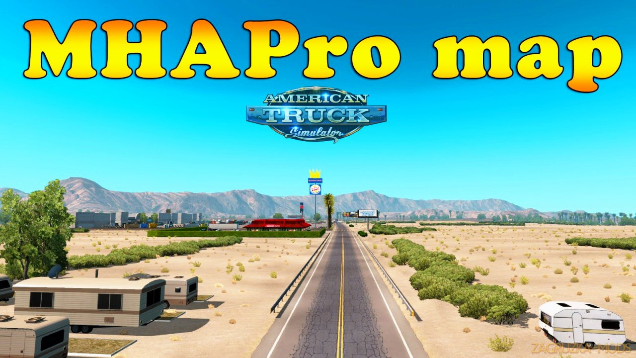 MHAPro Map ATS by MsHeavyAlex (v1.39x) for ATS