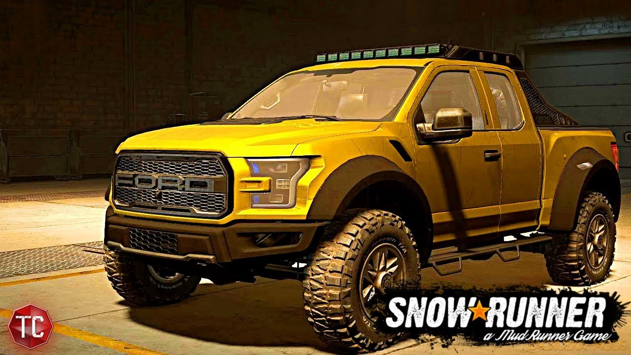 Ford F150 Raptor 2017 v1.0.2 for SnowRunner