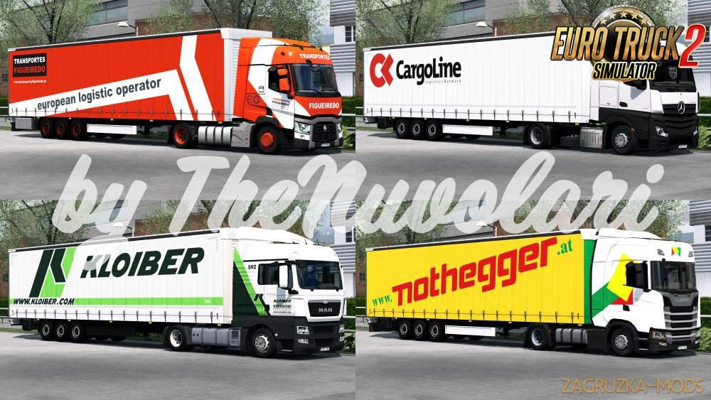 Fliegl SDS350 SkinPack v1.0 by TheNuvolari (1.37.x) for ETS2