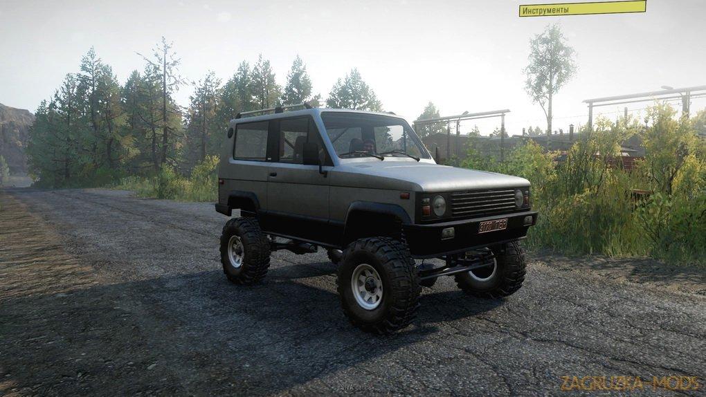 UAZ-3170 Terra v2.9.1 for SnowRunner